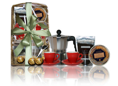 Coffee Connoisseur's Gift Basket-AFB1030